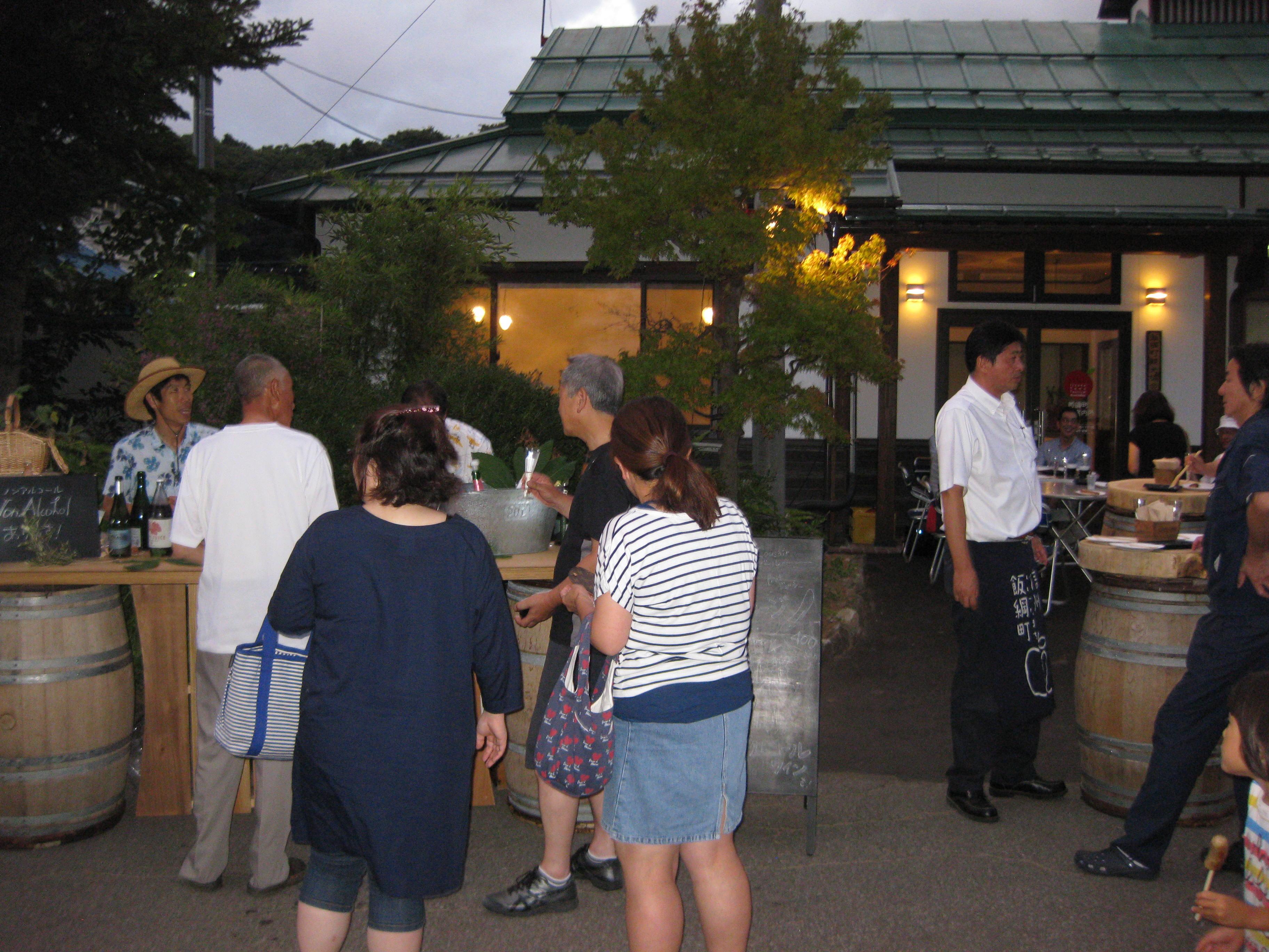 【終了いたしました】岩崎観音四万八千日縁日<br />「牟礼駅前にサンクゼールのワインバーがオープン」
