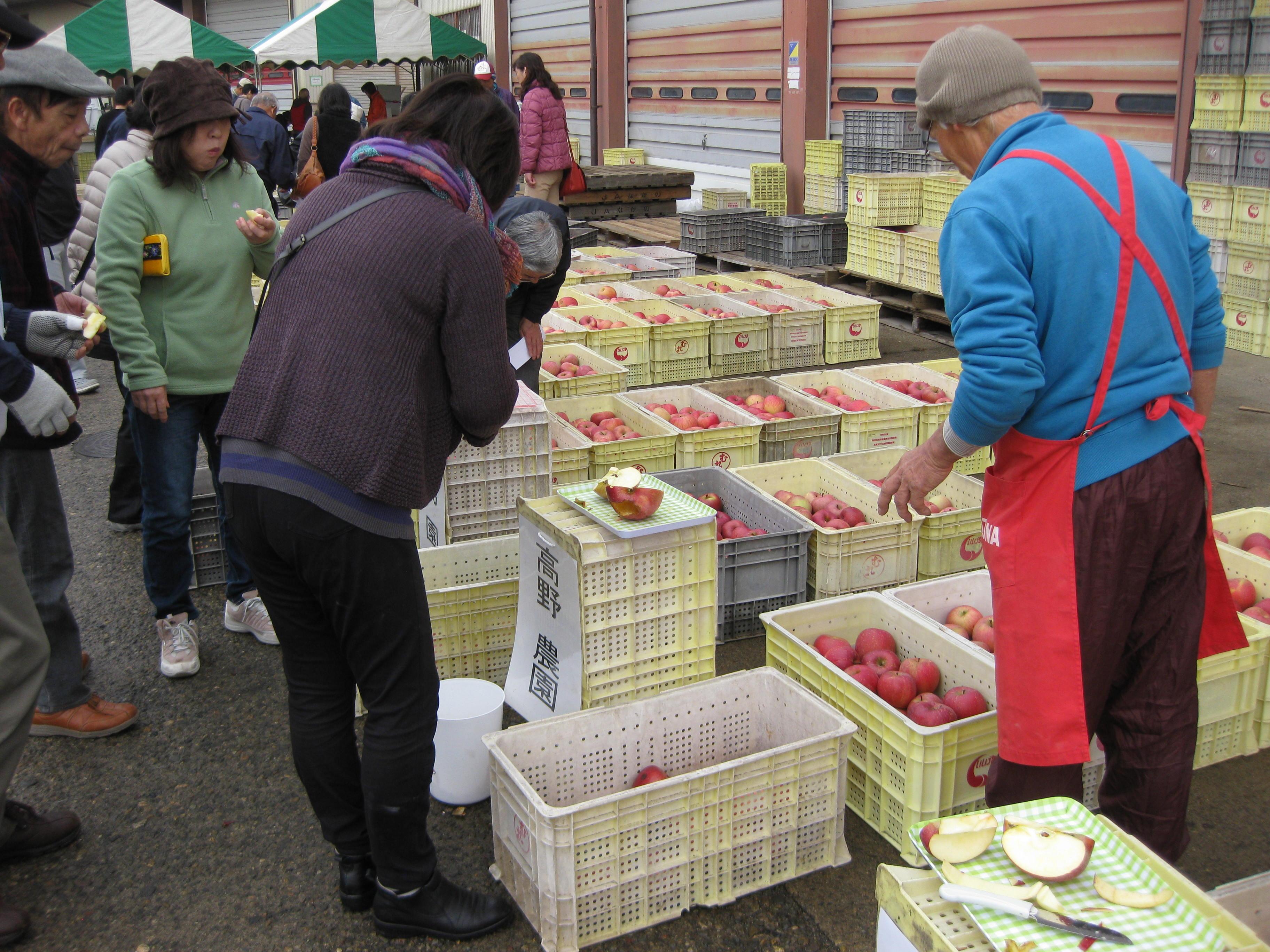 【終了いたしました】りんご 「ふじ」 祭り!