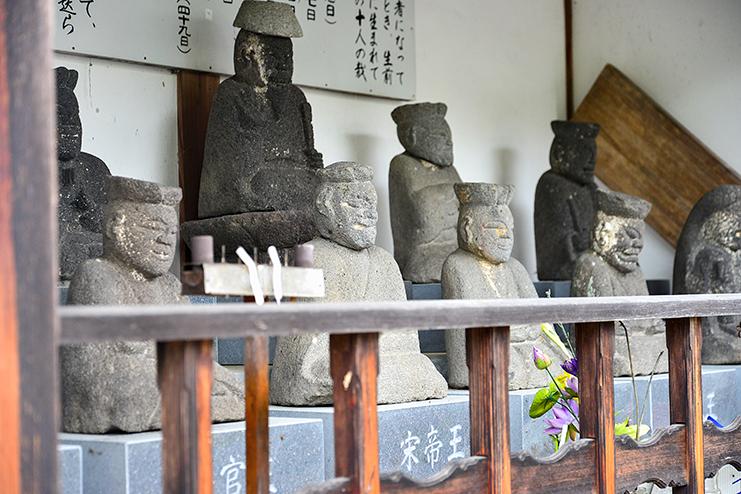 十王堂(じゅうおうどう)と十王坂(じゅうおうざか)