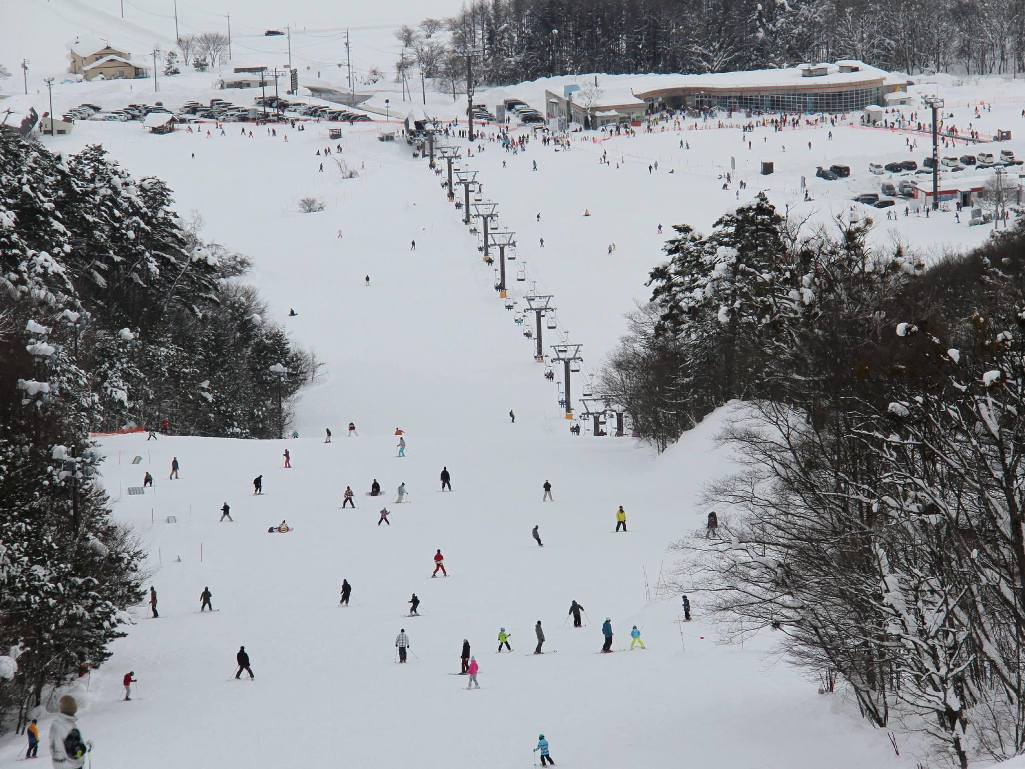 いいづなリゾートスキー場<br />12月23日(土)オープンしました。