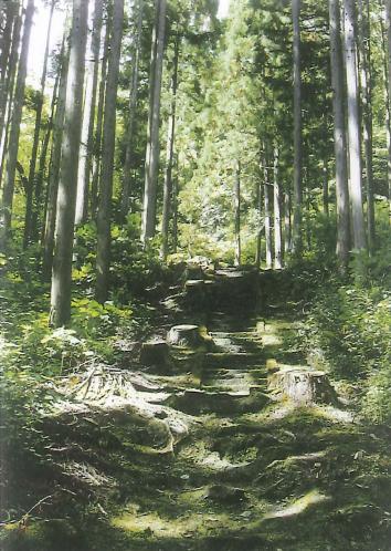 「霊泉寺跡」かつての修験の霊場