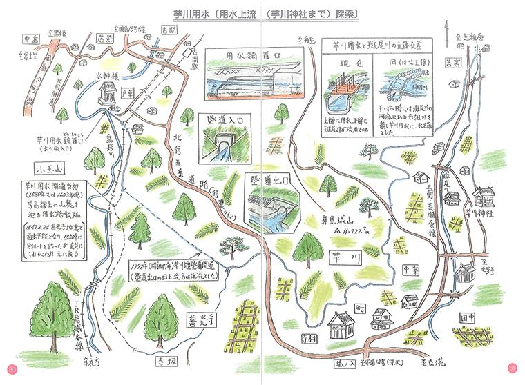 「芋川用水の歴史」里山の景観が時を刻む